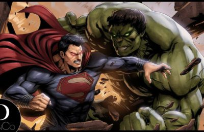 Hulk peut-il devenir plus fort que Superman ?