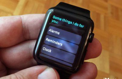 Comment contrôler quand Siri parle dans le cadre de l'Apple Watch