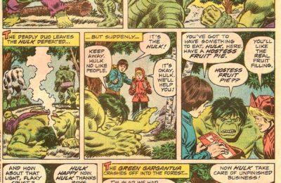 Captain America a convaincu Hulk de manger un méchant