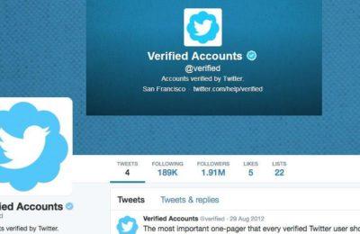 Les utilisateurs de Twitter peuvent demander un badge bleu vérifié en 2021