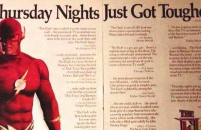 Le premier flash de la télévision John Wesley Shipp célèbre le 30e anniversaire de l'émission des années 90