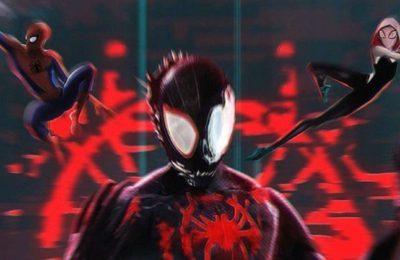 Venom rencontre l'animé Miles Morales dans l'affiche Spider-Verse 2