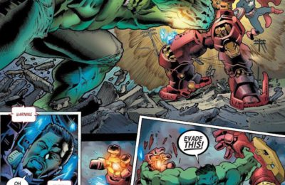 Captain America s'apprête à combattre un Hulk immortel