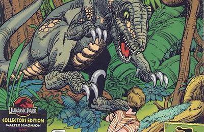 Le Jurassic Park original rencontre Zorro dans une nouvelle bande dessinée