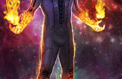 La torche humaine va sauver l'univers de Marvel