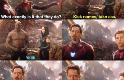 Quand Drax a rencontré Les Avengers, il leur a donné de nouveaux noms hilarants