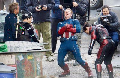Robert Downey Jr. partage la photo du BTS pour l'anniversaire de Mark Ruffalo et Scarlett Johansson