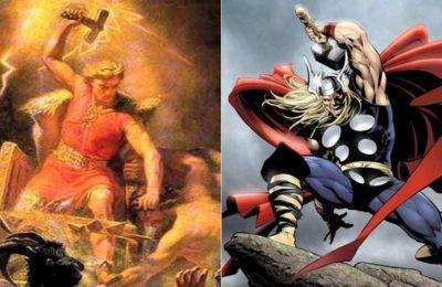 La version de Loki du marteau de Thor a été forgée en enfer.