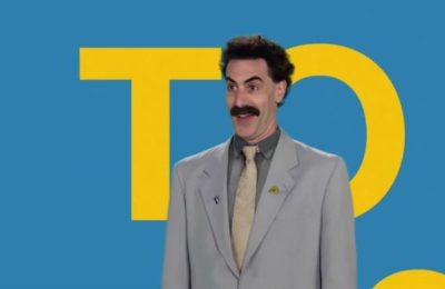 Sacha Baron Cohen fait un don de 100 000 euros à l'église de la baby-sitter de Borat 2.